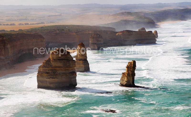 The Twelve Apostles Near Port Campbell