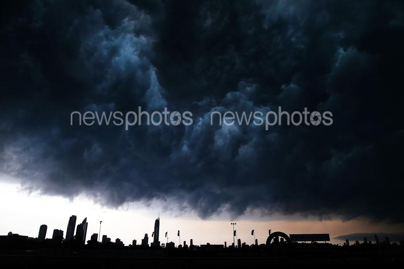 Storm Rolls Over The Gold Coast
