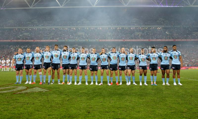 2014 QLD v NSW State Of Origin Game 1