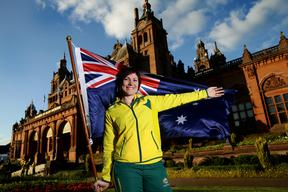 Cyclist Anna Meares announced as flag bearer during the Australian Commonwealth Games