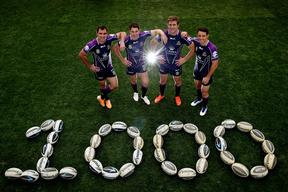 Melbourne Storm Four To Play Combined 1000th Game Together