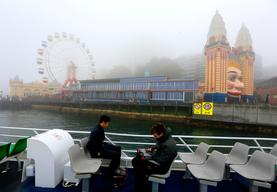 Heavy Fog Envelops Sydney